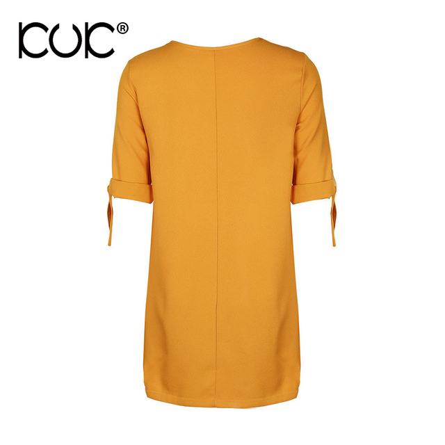 Boho Dress Mini Women Hippie Chic Clothing Bow Yellow Vestidos Summer Beach Dress Tunic Femme A711