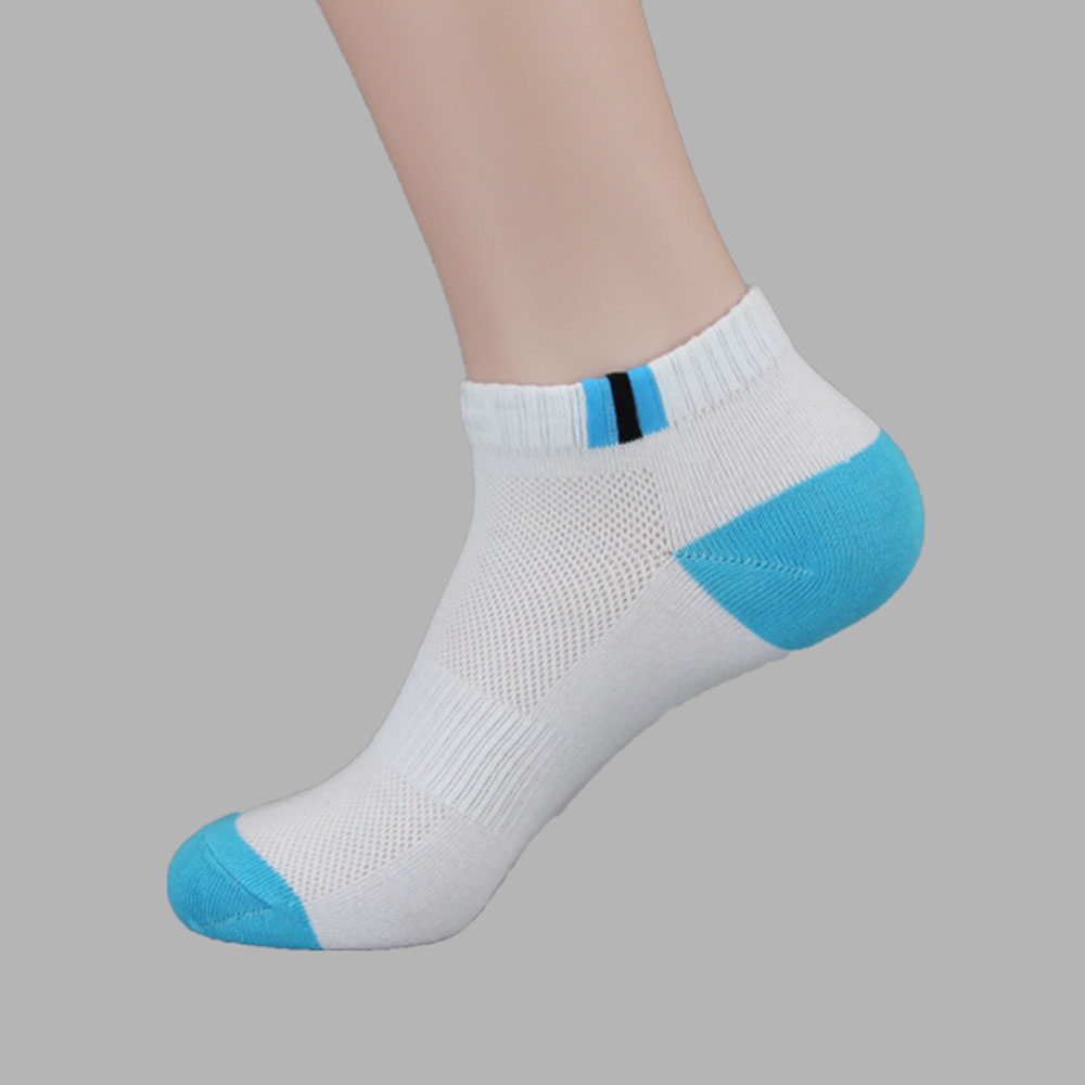 running - Men Ankle Summer Low Cut Crew Sport Cotton Blend Socks Soft For Men's Business Casual Solid Color Short Socks Male Sock Hot Sale