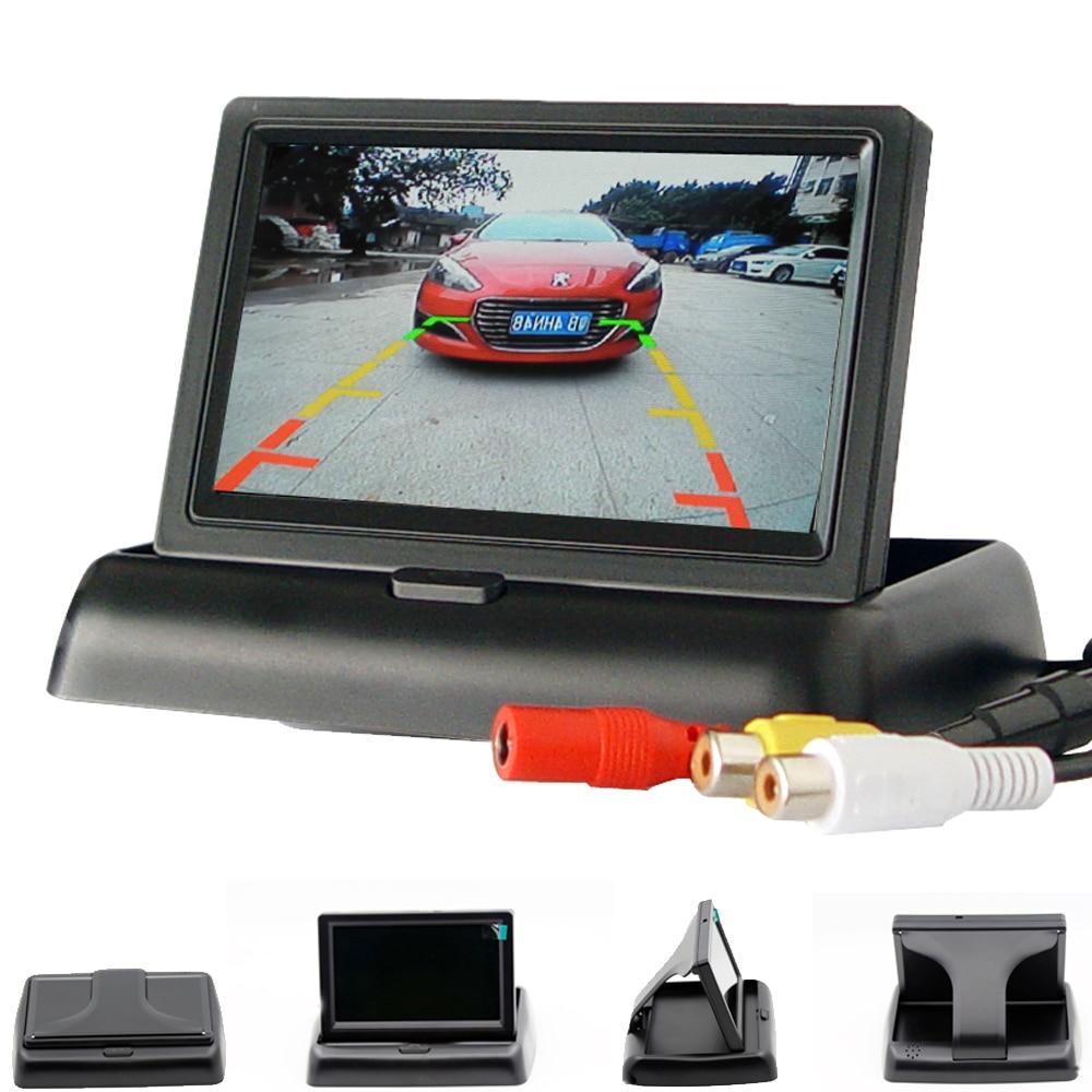 HD Auto-Monitor Rückfahr bild auto rückansicht kamera rückansicht Kamera auto elektronische auto detectorparking sensoren