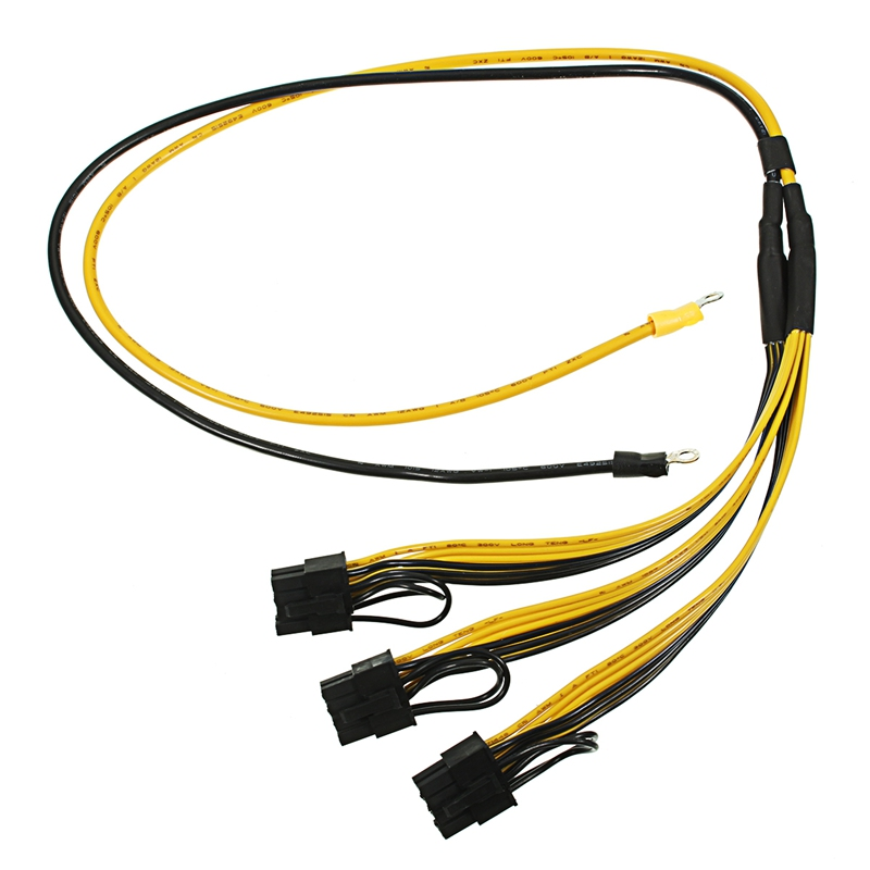 5pcs PCI Express Graphics Card Connector PC Power Supply Cable CPU Molex 8pin to 2 PCI-e 8(6+2)pin Internal Cable Power Splitter cable 18cm 2 way 4 pin psu power splitter cable lp4 molex 1 to 2 drop shipping cabo 17july18 page 3