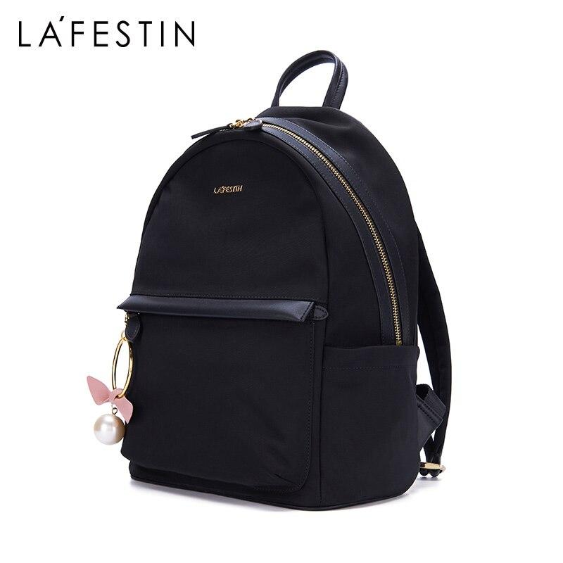 Lafestin 조수 브랜드 여행 배낭 여성 패션 배낭 2019 새로운 야생 옥스포드 배낭 발수-에서백팩부터 수화물 & 가방 의  그룹 3