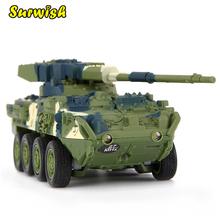 Креативная Игрушка Magic Prestige 8021 Stryker Cannon автомобиль rc танк военная модель игрушки-зеленый