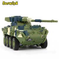 Kreative Spielzeug Magie Prestige 8021 Stryker Kanone Auto RC Tank Military Modell Spielzeug-Grün