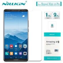 Nilkin для Huawei Коврики 10 Pro закаленное Стекло Nillkin Удивительный H + Pro 0.2 мм Стекло Экран протектор Плёнки для huawei Коврики 10 Pro
