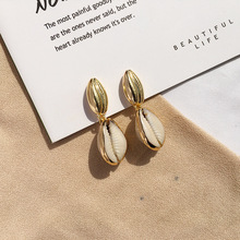 CHENFAN womens earrings with shells fashion 2019 korean for women jewelery seashell jewelry