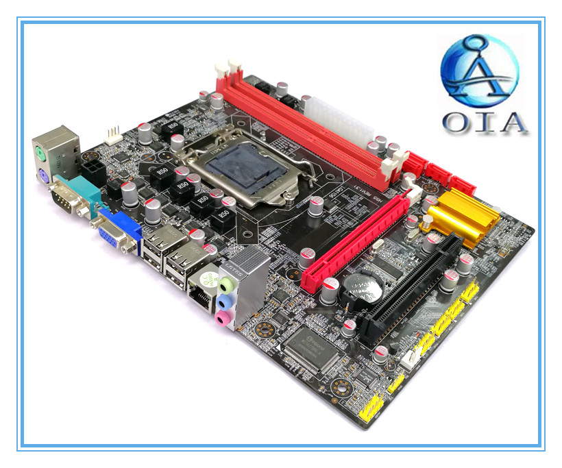 Free shipping H55 new motherboard LGA 1156 DDR3 Motherboard Desktop 23CM*18CM mainBoards цена