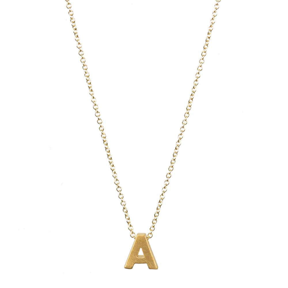 Fashion Jewelry 26 Word Alphabet Love Letter A B C D E F G H I J K L M N O P Q R S T U V W X Y Z Pendant Necklace For Women đồng hồ gucci dây nam châm