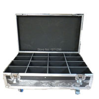 Free Fast Shipping High Quality Flight Case Flight Package For 16pcs LED PAR Light