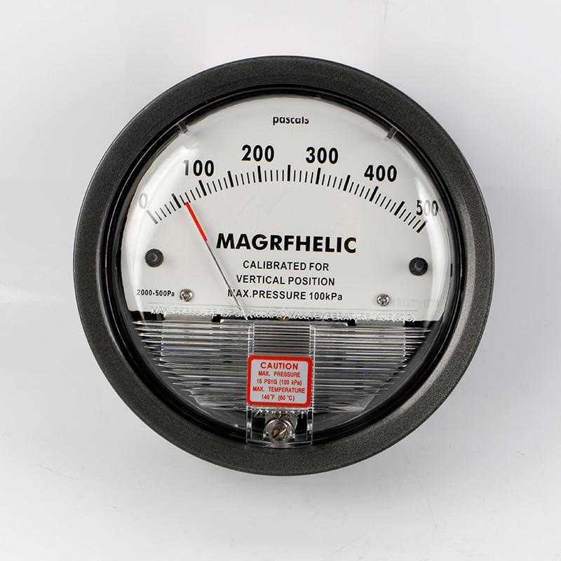 TE2000 0-500pa Micro Differential Pressure Gauge High