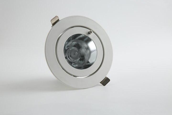 2018 Luminarias Para Teto 1 шт./лот затемнения светодиодный светильник, свет удара потолочные пятна 35 Вт 85-265 В встраиваемые огни Освещение в помещении