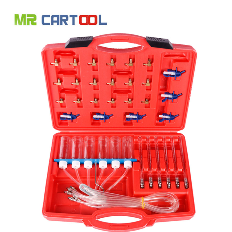 Diesel Injector Tester Tools Common Rail Car Diagnostic tool Flow Kit Auto Nozzle Fuel Injectors Return Flow Metering for Trucks diesel common rail tool for delphi injector scv pvc pcv fuel metering valve rama f01a crt100