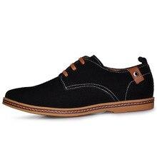 Классический Досуг Обувь Мужская Весна Осень Нубука Обувь Из Натуральной Кожи Мужской Кожи Свиньи Подкладка Оксфорды Повседневная Квартиры Больше Цветов