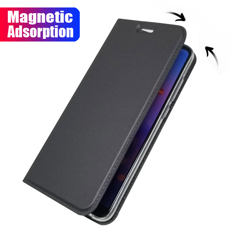 TPFIX Magnetic Wallet For <font><b>Huawei</b></font> <font><b>Y5</b></font> Y6 Y9 <font><b>2018</b></font> Flip Cover <font><b>Leather</b></font> Phone <font><b>Cases</b></font> For <font><b>Huawei</b></font> P9 P10 P20 Pro Lite Mate 20 Ultra Thin image