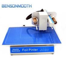 AMD-8025 digital printer foil printer for Book cover, menu, calendar, nonwoven bag