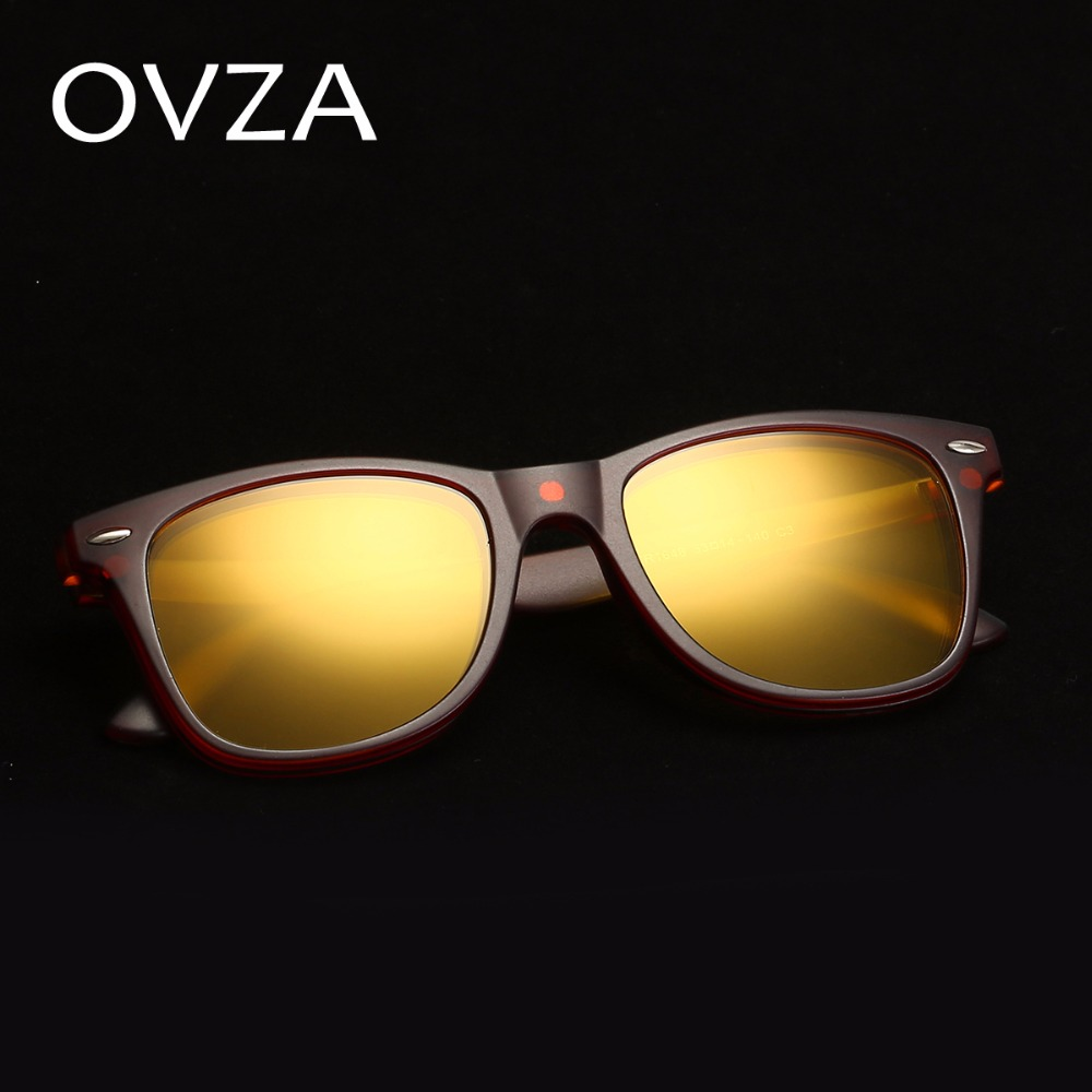 addd7ec408b Ovza Polarized Driving Sunglasses Women Night Vision Goggles Men TR90 Ultra  light Sunglasses Fashion Removable Lens S2025-in Sunglasses from Men s  Clothing ...
