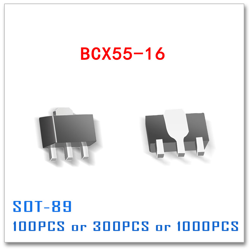 BCX55-16 standard PNP 60V 1A BCX55 100PCS 300PCS 1000PCS SOT89 SOT-89 High Quality pbss5160t sot23 1000pcs pbss5160 pnp 60v 1a