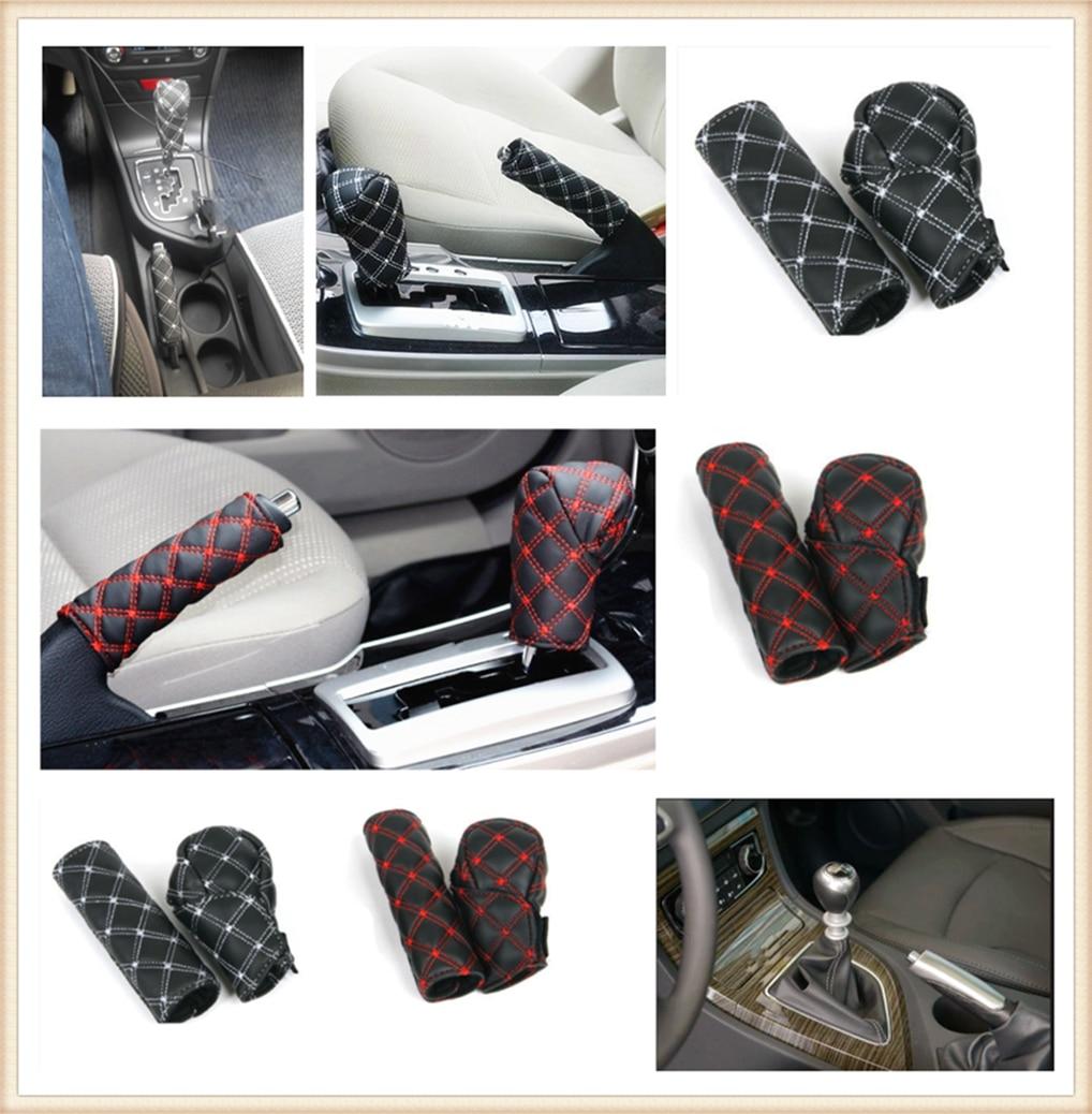 Auto Dekoration Shell Hand Brems Shift Getriebe Abdeckung Für Toyota Yaris Tundra Tacoma Rav4 Corolla Aygo Avalon Auris