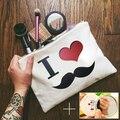 ShengBaoLi 3D Impressão Sacos de Maquiagem Necessaire Mulheres Maleta Maquiagem Realizando Cosméticos Sacos de Viagem Organizador Sacos de Maquiagem