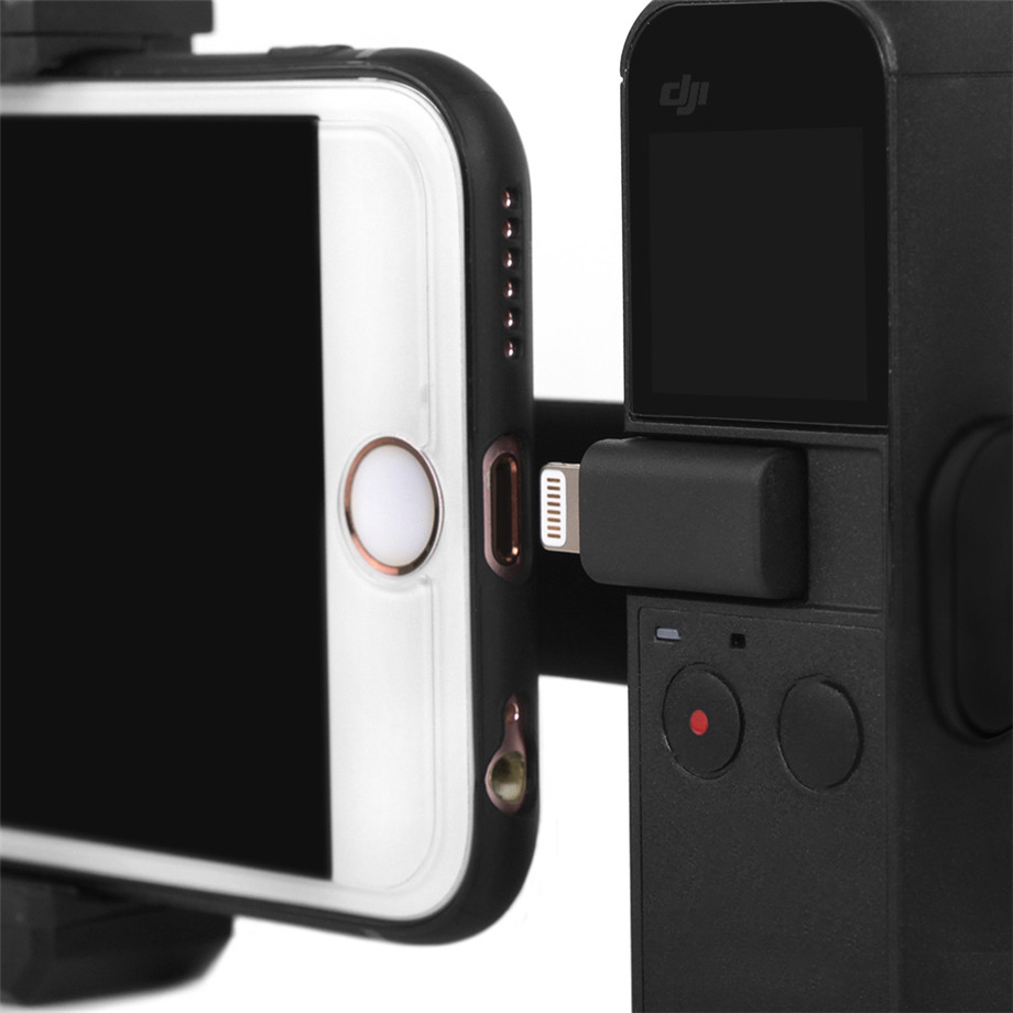 OSMO Pocket Smartphone Fixing Bracket Stand Clamp Extending Rod Tripod for DJI OSMO POCKET Gimbal Accessories 37