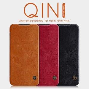Image 1 - Xiaomi Redmi için Not 7 kılıf kapak çevirin, PU deri kılıf Xiaomi Redmi için Not 7 pro lüks vintage cüzdan katlanır kitap