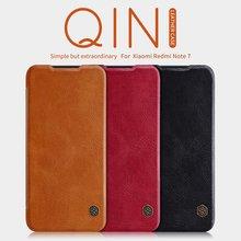 for Xiaomi Redmi Note 7 case flip cover, PU leather case for Xiaomi Redmi Note 7 pro on luxury vintage wallet folding book