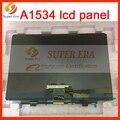 "Original nuevo 12 ""pantalla lcd 2304x1440 a1534 lsn120dl01-a01 para apple macbook retina 12 pulgadas lcd de pantalla de cristal mf855 mf865"