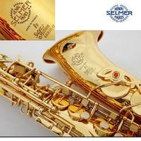 Brand Professional E Flat Sax Alto Saxophone France Henri Selmer Alto Saxophone 802 Saxfone E Flat