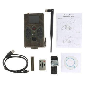 SMTP MMS 2G CellularTrail Surveillance Camera Wildlife Waterproof 16MP 1080P Mobile Hunting Cameras HC300M Photo Trap Tracking 4