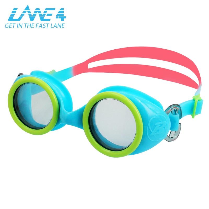LANE4 Junior Optical Swim Goggle WIZARD Silicone Strap Anti-fog UV Protection Quick Release for Children #91395 ...