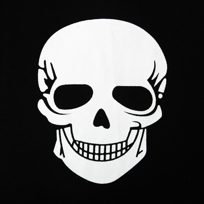Four Kids 39 suits Of Summer Short sleeved Halloween Skull Happy Clothes For Boys And Children In Europe And America