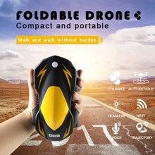 Wifi FPV Drone with Camera 3.0MP 2.4Ghz RC Control Quota Folding Gravity Control Fixed Height RC Quadcopter