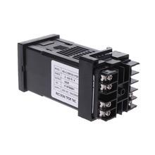 PID цифровой регулятор температуры REX-C100 0 до 400 градусов Цельсия K Тип вход SSR тестер выхода инструменты