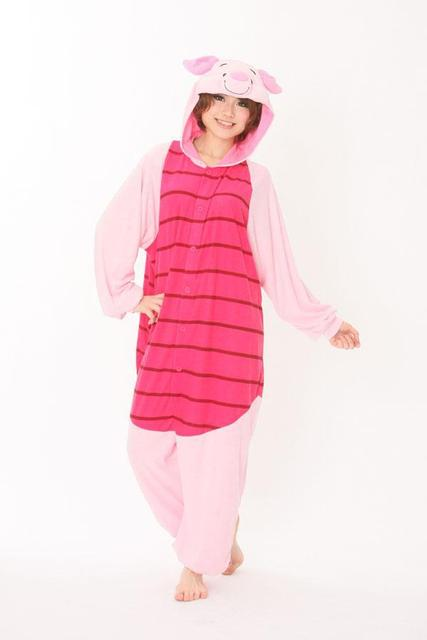 Aliexpress.com : Buy Animal Anime Piglet Adult Unisex Pajamas ...