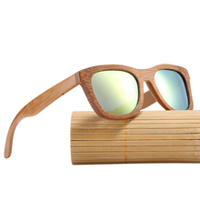 Men's Natural Bamboo Sunglasses