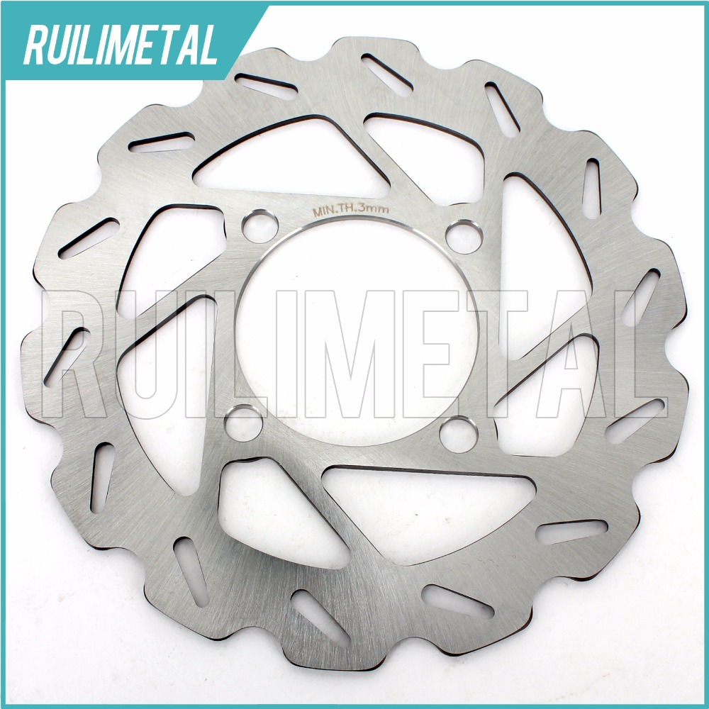 Front Brake Disc Rotor for YAMAHA YXR 450 Rhino 660 700 FI Auto 4x4 Ducks Unlimited Version Sport Edition 09 11 12 13 ATV QUAD keoghs motorcycle brake disc brake rotor floating 260mm 82mm diameter cnc for yamaha scooter bws cygnus front disc replace