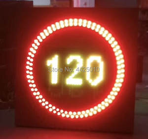 Speed-Limit Sign Led-Traffic-Signage China 30-To-120-Hours/1-Hour