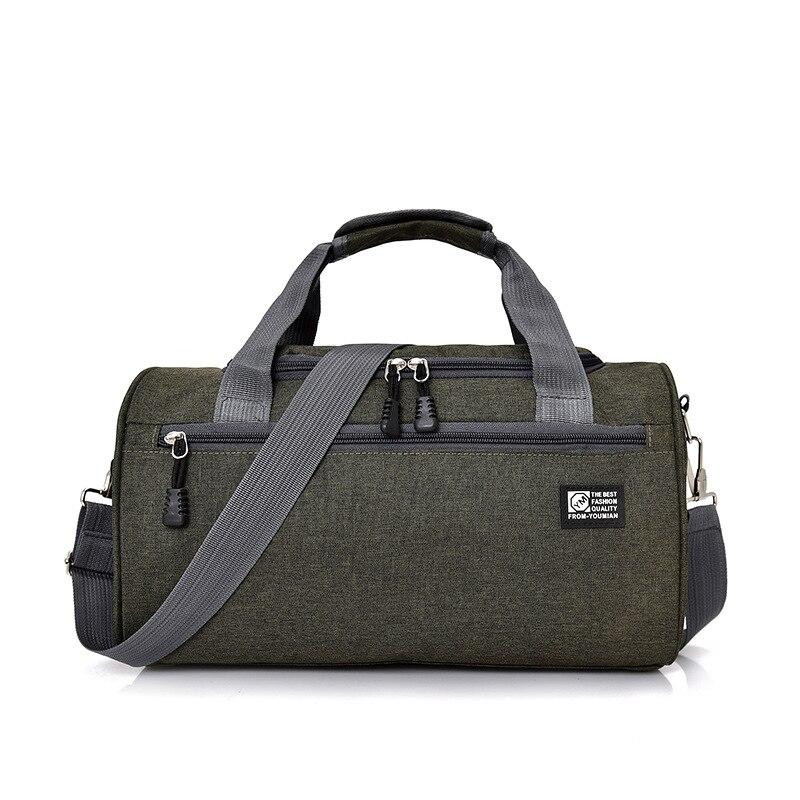 Scione мужские дорожные спортивная сумка легкая багажная деловая женская уличная спортивные сумки плечо Наплечная Сумка - Цвет: Green