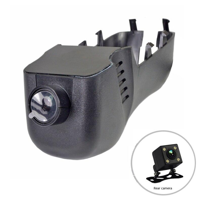 1080 P WiFi приложение двойной видеорегистратор для автомобиля Dash cam для VW Volkswagen CC Touareg Golf 7 R-Line автомобильный recoder DVR Novatek 96658