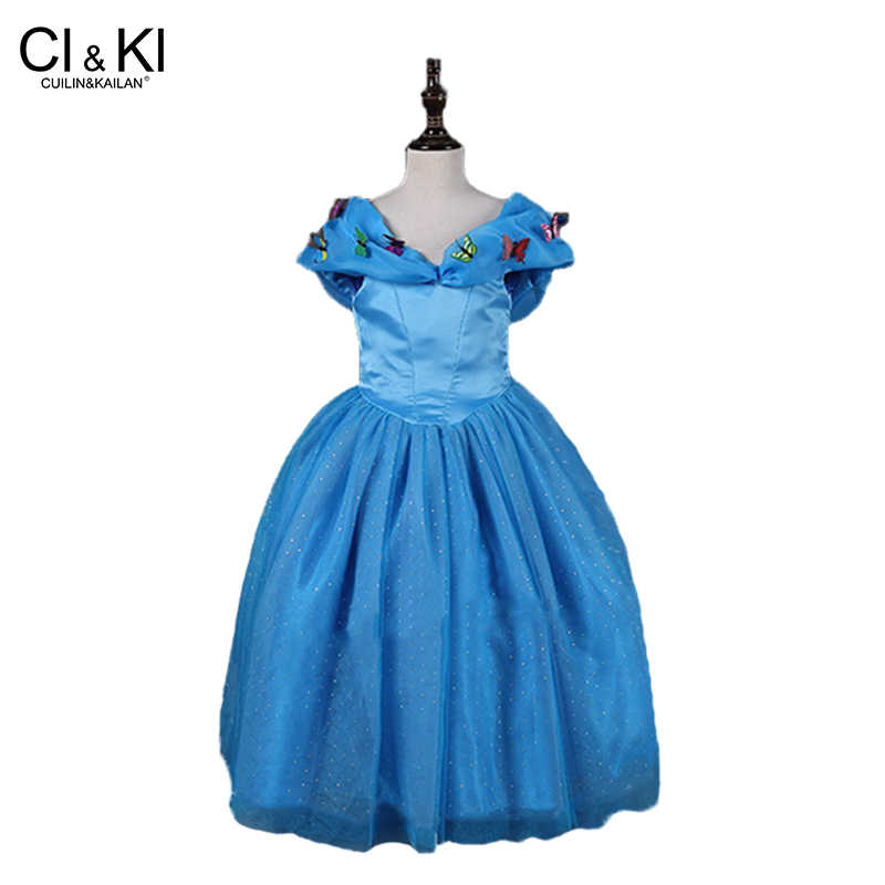 bed5248f76e01 Detail Feedback Questions about CuilinKailan dress Elsa anna girl ...