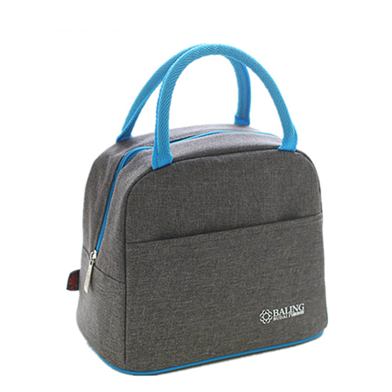 Oxford Thermal Lunch Bags Children Portable Pouch Travel Picnic Insulated Food Drink Cooler Storage Box Accessories Supplies