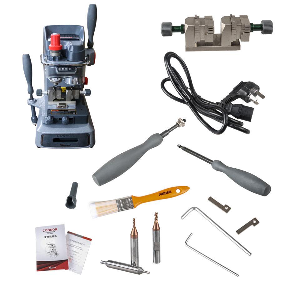 New Released Original Xhorse Condor XC-002 Ikeycutter Mechanical Key Cutting Machine Three Years Warranty (15)