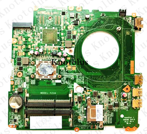 763424-501 for HP Pavilion 17-F laptop motherboard  763424-001 DAY23AMB6C0  Free Shipping 100% test ok 574680 001 1gb system board fit hp pavilion dv7 3089nr dv7 3000 series notebook pc motherboard 100% working