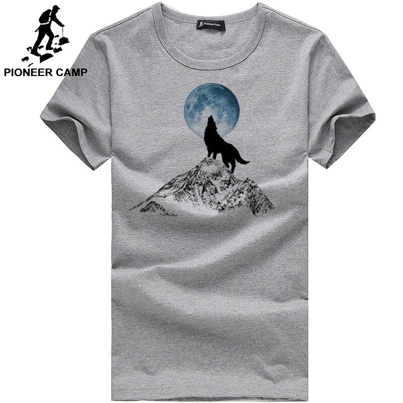 In Stil; Die Coolmind Top Qualität 100% Baumwolle Shark Gedruckt Männer T Shirt Kurzarm Casual Oansatz Tops Tees Männer T-shirt Modischer