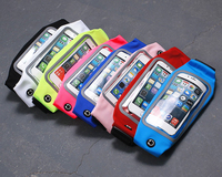 Gym Waterproof Waist Clip Mobile Phone Case Touch Screen Bags For Huawei Honor 9 Homtom HT30