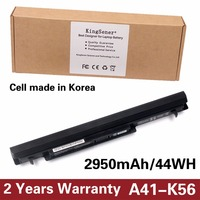 Original Quality New Laptop Battery For ASUS K46 K46C K46CA K46CM K56 K56CA K56CM A41 K56