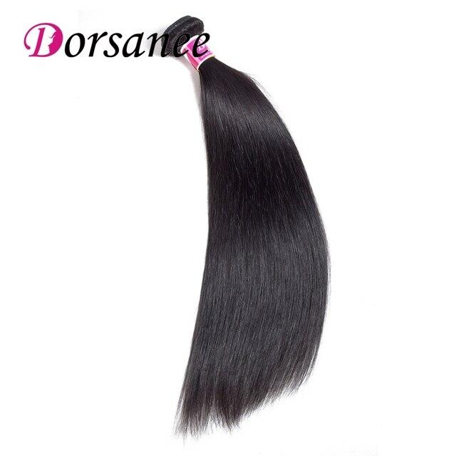Dorsanee Peruvian Straight Hair Bundles 100 Human Hair Weave