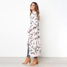 Новый женский трикотажный пиджак Кардиган Свитер Модная женская одежда Повседневная Элегантный карди Лучш�