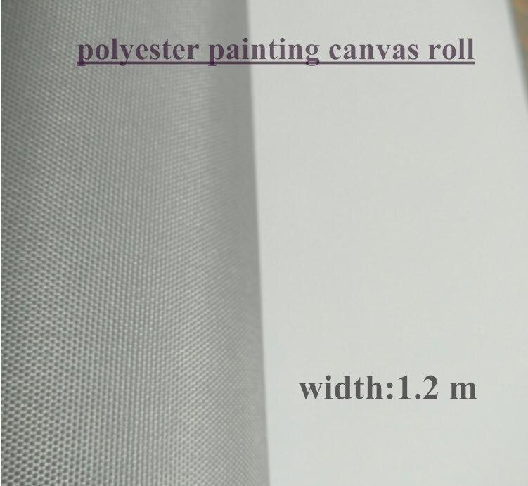 1.2 m szerokości rozmiar szary poliester malarstwo na płótnie, hurtownie dostaw sztuki w Płótno do malowania od Artykuły biurowe i szkolne na  Grupa 1