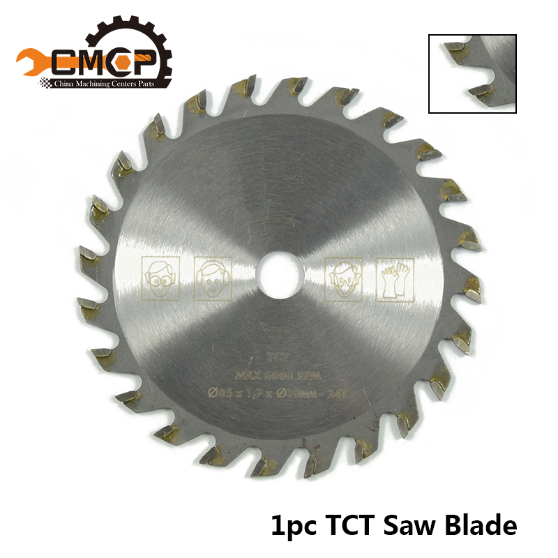 Wheel-Discs Cutting-Disc Saw-Blade Woodworking Carbide 85mm 110mm 1pc 24 For Teeth-Tct