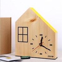 الإبداعية الحديثة انتظام موقف الحديث نوم غرفة المعيشة ساعة خشبية ساعة الحائط الرقمية حركة هادئة جدا لديكور المنزل
